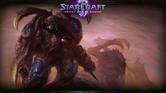 Fiction ii: heart of the swarm ii wallpaper