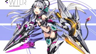 Hair weapons gia (artist) navel white musume wallpaper