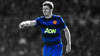 League stars cutout michael carrick football player wallpaper