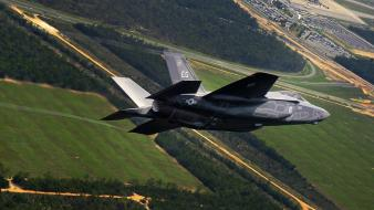 Military fighters f35 jet wallpaper