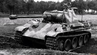 Military tanks pzkpfw 5 panther wallpaper