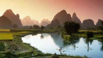 Nature china fishing wallpaper