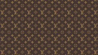 Patterns louis vuitton designer label wallpaper