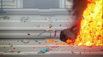 Pixel art pixelation pixelated riot (video game) wallpaper