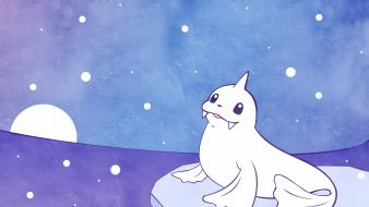 Pokemon video games dewgong wallpaper