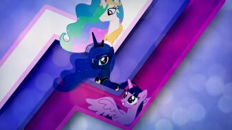 Pony: friendship is magic rule three alicorns wallpaper