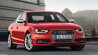 Red cars audi 2013 wallpaper