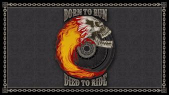 Rider typography artwork marvel chains wheels bordered wallpaper
