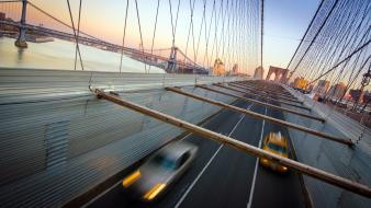 Roads brooklyn long exposure hdr photography modern wallpaper