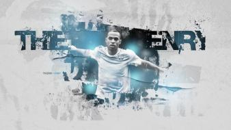 Soccer barcelona stars thierry henry football player wallpaper