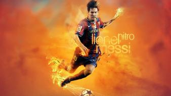 Soccer lionel messi football player wallpaper