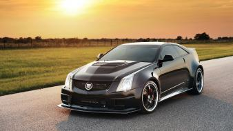 Tuning cadillac cts-v tuned black cts hennessey wallpaper