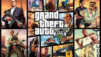 Video games rockstar grand theft auto v 5 wallpaper