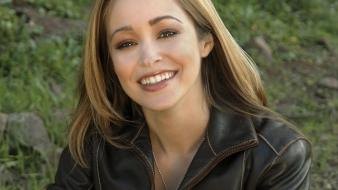 Autumn reeser smile wallpaper