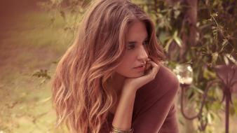Blondes women fashion clara alonso photography model Wallpaper