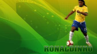 Brazil ronaldinho ac milan football stars Wallpaper