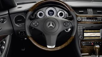 Car interiors mercedes-benz cls-class cls wallpaper