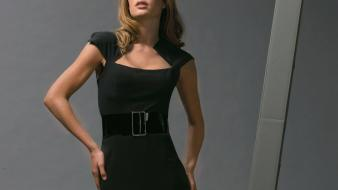 Doutzen kroes black dress Wallpaper