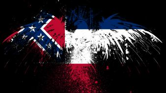 Eagles hawk flags usa mississippi redneck state wallpaper