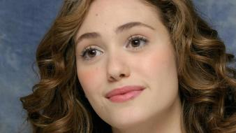 Emmy rossum face wallpaper