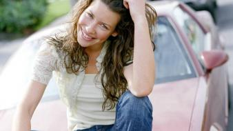 Evangeline lilly car wallpaper