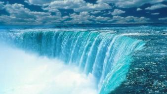 Landscapes nature canada niagara falls waterfalls wallpaper