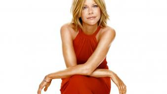 Meg ryan red dress wallpaper
