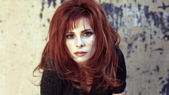 Mylene Farmer Face wallpaper