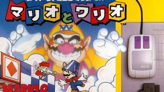 Nintendo video games mario japanese wario box art Wallpaper