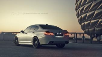 Streets design bmw m5 iv wallpaper