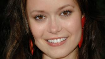Summer Glau Face wallpaper