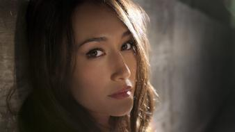 Women actress maggie q wallpaper