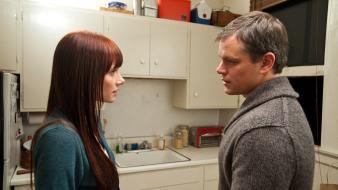 Actors matt damon bryce dallas howard scene wallpaper