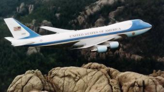 Aircraft airplanes usa air force one wallpaper