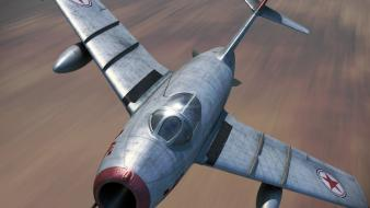 Aircraft artwork alley mig Wallpaper