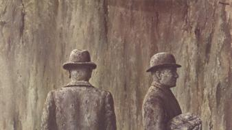 Artwork traditional art hats rene magritte belgian wallpaper