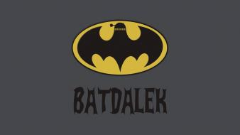 Batman bat dalek doctor who wallpaper