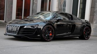 Black cars audi r8 anderson germany Wallpaper