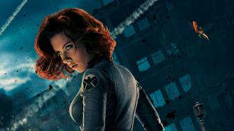 Black widow marvel comics the avengers (movie) wallpaper