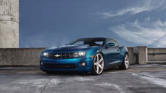 Cars cgi muscle camaro ss chevrolet blue car wallpaper