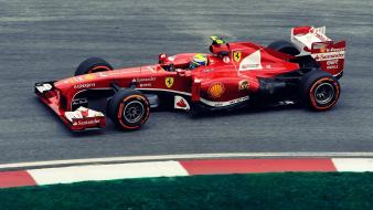 Cars formula one felipe massa tracks scuderia ferrari Wallpaper