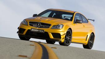 Cars mercedes benz c63 black series solarbeam wallpaper