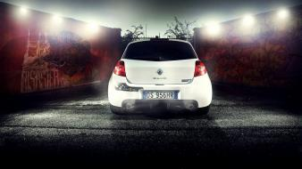 Cars roads renault clio rs wallpaper