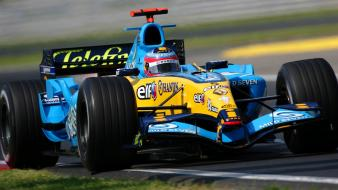 Cars sports formula one fernando alonso renault 2005 wallpaper