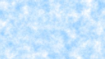 Clouds white blue skies Wallpaper