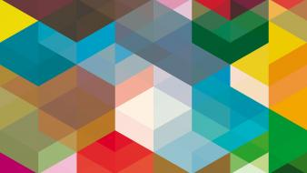 Cubes colors cube press Wallpaper