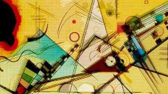 Design graphic art wassily kandinsky wallpaper
