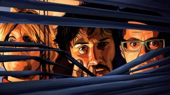 Downey jr a scanner darkly woody harrelson Wallpaper