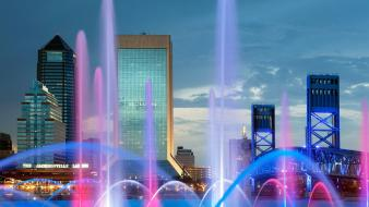 Florida friendship jacksonville fountain Wallpaper