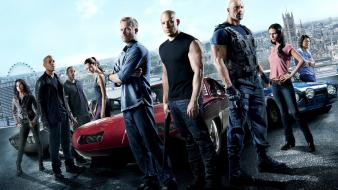 Gibson dwayne johnson fast and furious 6 wallpaper